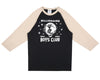 Billionaire Boys Club Pre-Spring '17 BILLION DOLLAR FAIR RAGLAN T SHIRT - BLACK