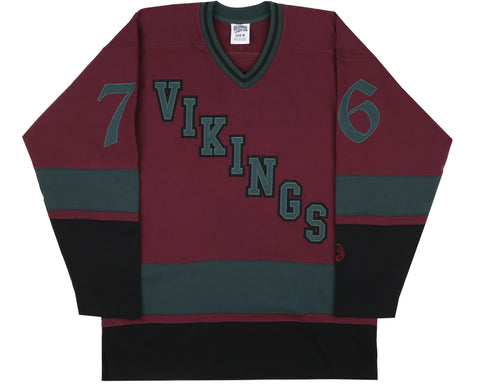 Billionaire Boys Club Fall '18 VIKINGS HOCKEY JERSEY - RED
