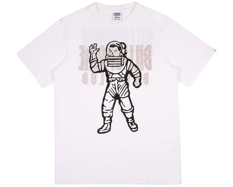 Billionaire Boys Club Fall '17 STANDING ASTRO  REVERSIBLE T-SHIRT WHITE