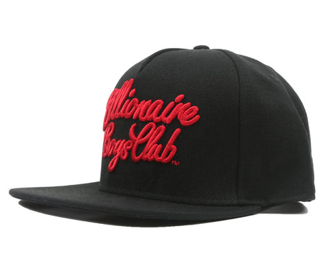 Billionaire Boys Club Fall '17 SCRIPT LOGO SNAPBACK BLACK