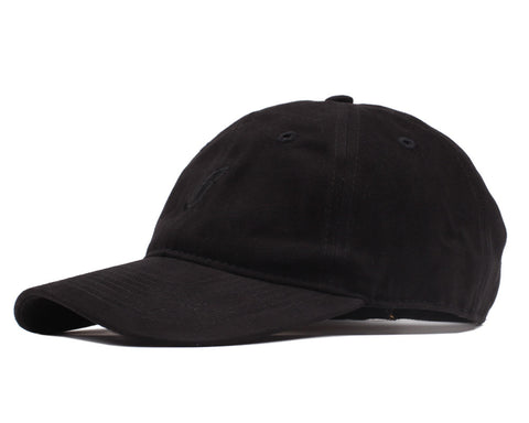 Billionaire Boys Club FLYING B CURVED VISOR 6-PANEL CAP - BLACK