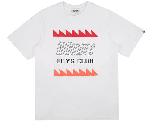 OSCILLATING LOGO T-SHIRT - WHITE
