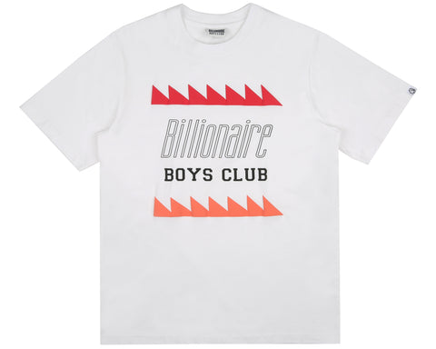 Billionaire Boys Club Spring '19 OSCILLATING LOGO T-SHIRT - WHITE