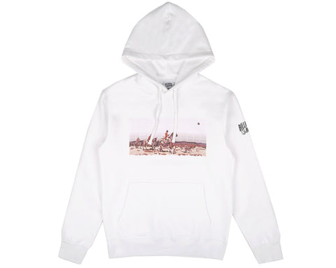 Billionaire Boys Club Pre-Spring '17 HUNTING IN SPACE POP OVER HOOD - WHITE