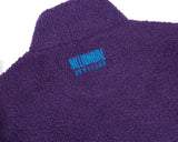 Billionaire Boys Club Fall '17 OVERSIZED 1/4 ZIP SHERPA FLEECE - PURPLE