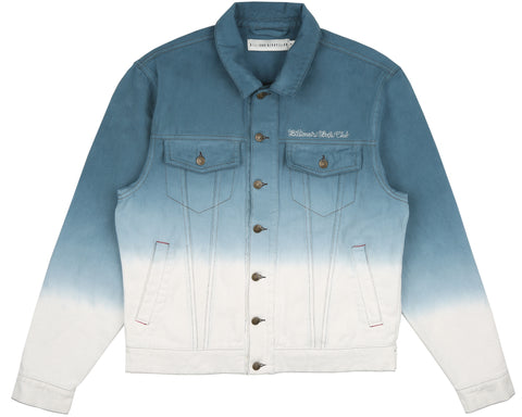 Billionaire Boys Club Spring '19 DIP DYE TRUCKER JACKET - NAVY