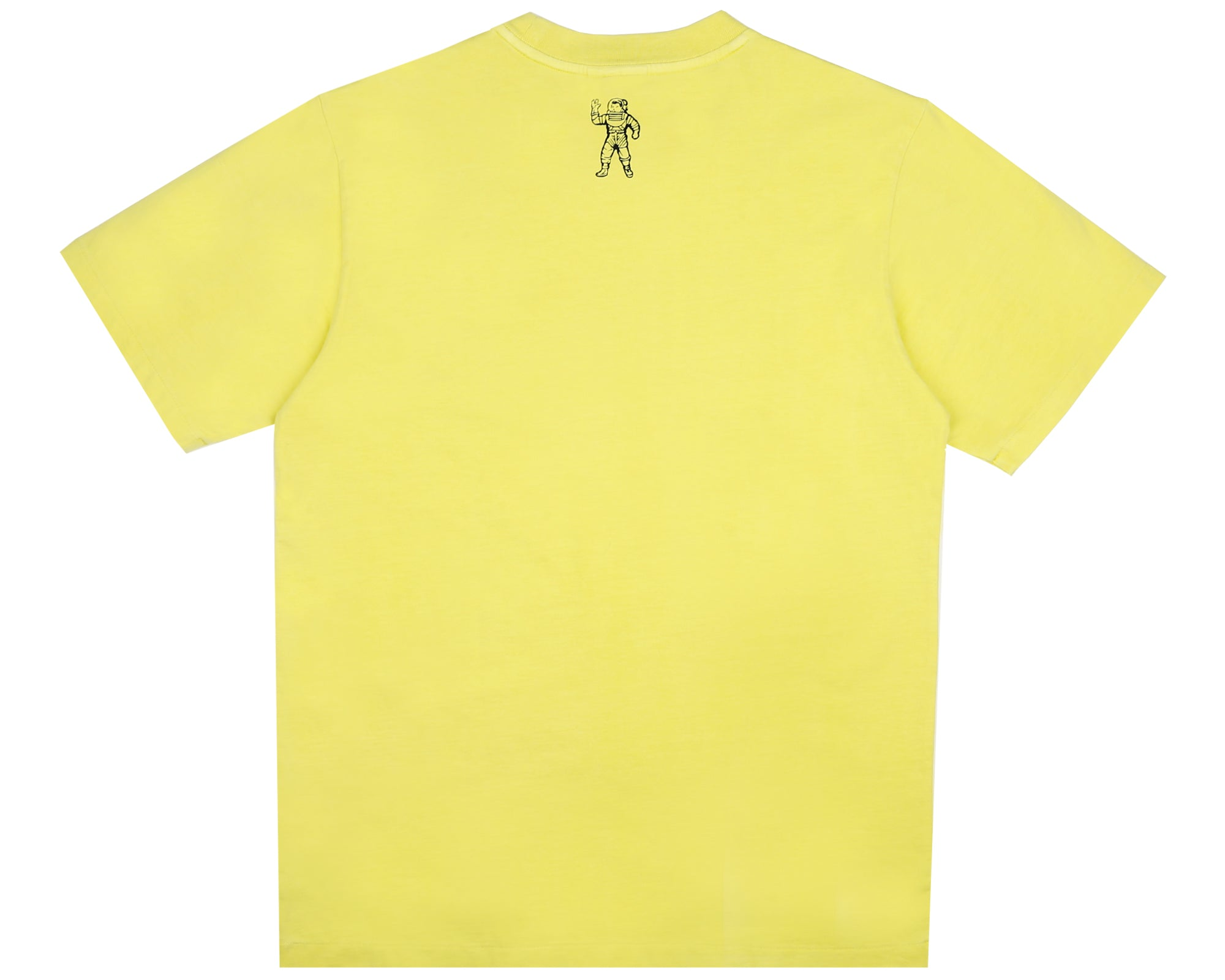 PIGMENT DYED FISH CAMO T-SHIRT - YELLOW