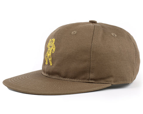 Billionaire Boys Club Pre-Fall '18 STANDING ASTRONAUT 6 PANEL CAP - OLIVE