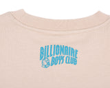 BBCICECREAM BILLION DOLLAR FAIR CREWNECK - OXFORD TAN