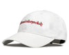 Billionaire Boys Club Fall '19 EMBROIDERED CURVE VISOR CAP - WHITE