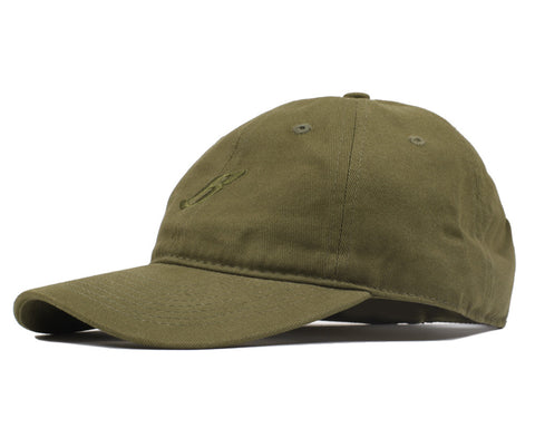 Billionaire Boys Club Fall '16 FLYING B CURVED VISOR 6-PANEL CAP - OLIVE
