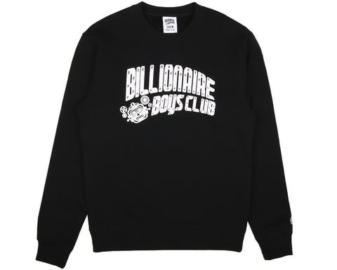 Billionaire Boys Club Pre-Spring '17 MECHANICS CREWNECK - BLACK