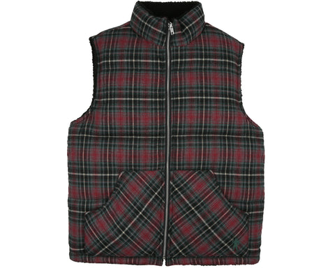 Billionaire Boys Club Pre-Spring '19 REVERSIBLE DOWN GILET - CHECK