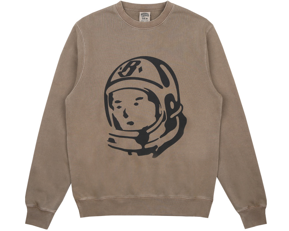Billionaire Boys Club Pre-Spring '18 DAMAGED CREWNECK SWEATSHIRT - TAUPE