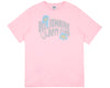 Billionaire Boys Club Pre-Spring '18 DAMAGED LOGO T-SHIRT - PINK