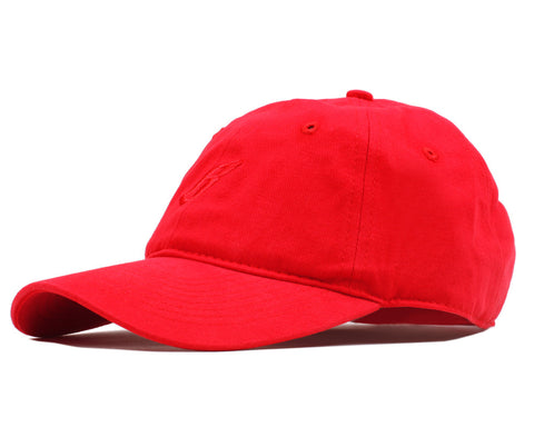 Billionaire Boys Club FLYING B CURVED VISOR 6-PANEL CAP - RED