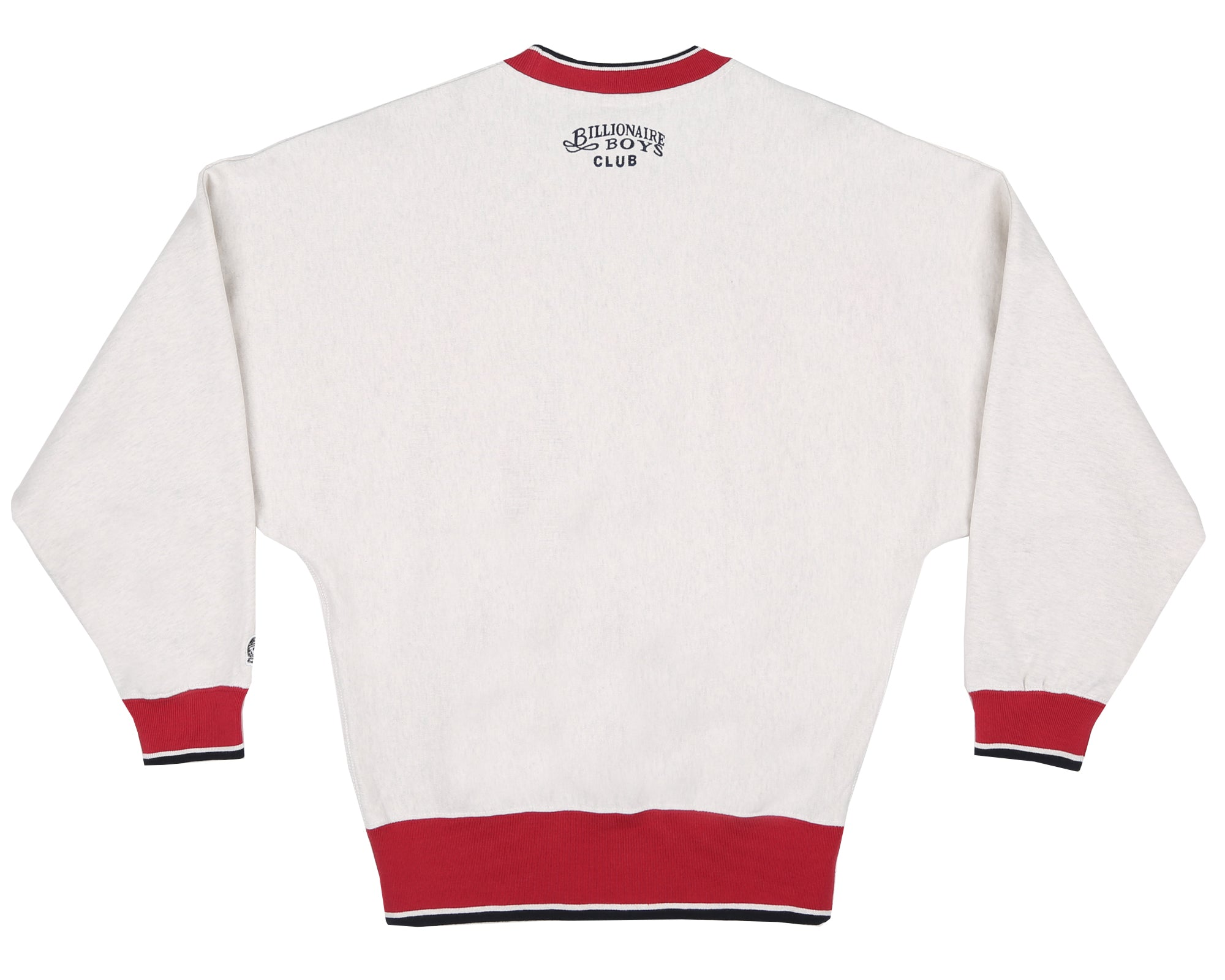 VIKINGS APPLIQUE CREWNECK - WHITE