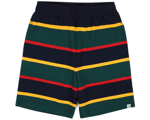 Billionaire Boys Club Spring '19 STRIPED SHORTS - DARK BLUE
