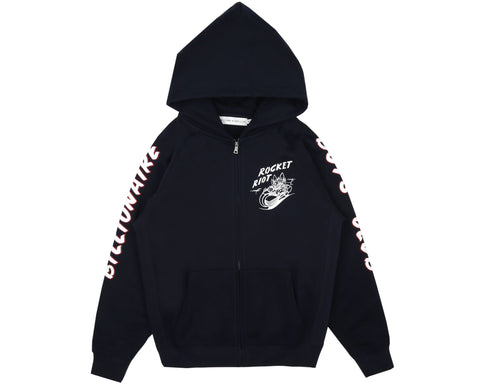 Billionaire Boys Club Spring '19 ROCKET RIOT ZIP THROUGH HOOD - NAVY