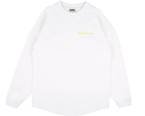Billionaire Boys Club Pre-Fall '19 CUT & SEW L/S T-SHIRT - WHITE