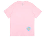 DAMAGED LOGO T-SHIRT - PINK