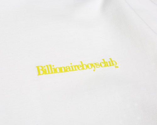 CUT & SEW L/S T-SHIRT - WHITE