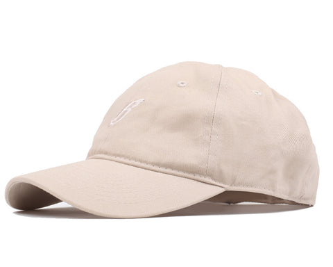 Billionaire Boys Club FLYING B CURVED VISOR 6-PANEL CAP - OXFORD TAN