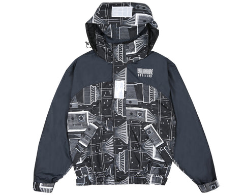 Billionaire Boys Club Pre-Spring '18 SKYSCRAPER SAILING JACKET - BLACK / WHITE