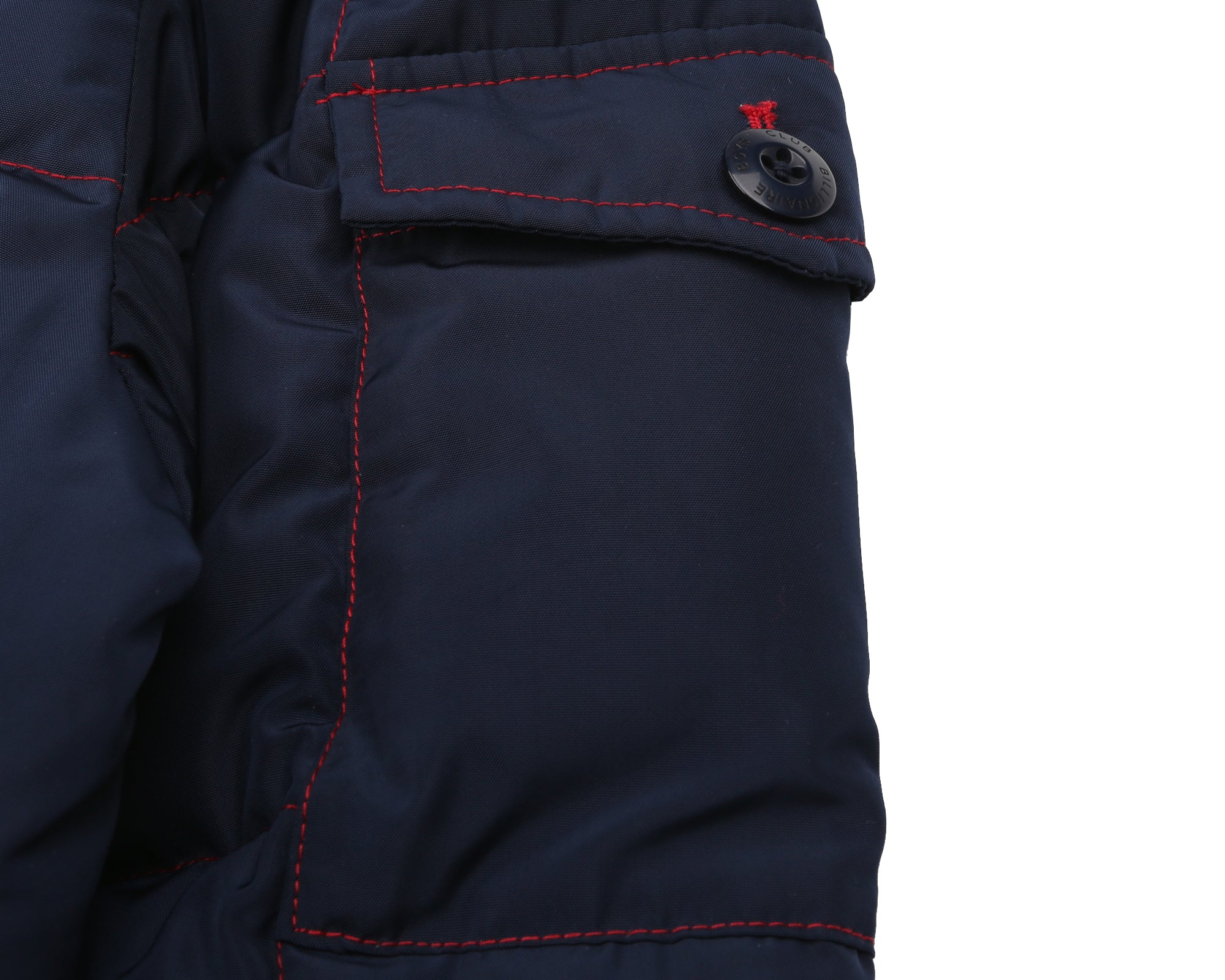 HALF-ZIP SKI JACKET - NAVY