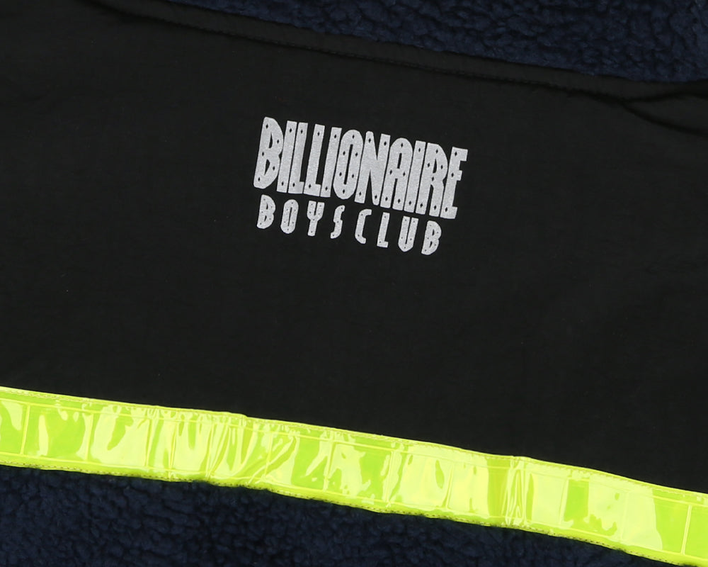 Billionaire Boys Club Pre-Spring '18 HI-VIS SHERPA FLEECE - NAVY
