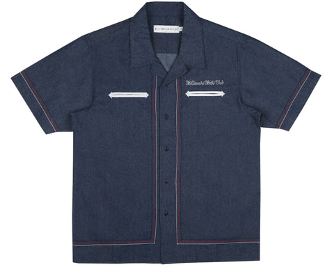 Billionaire Boys Club Spring '19 DENIM BOWLING SHIRT - DENIM
