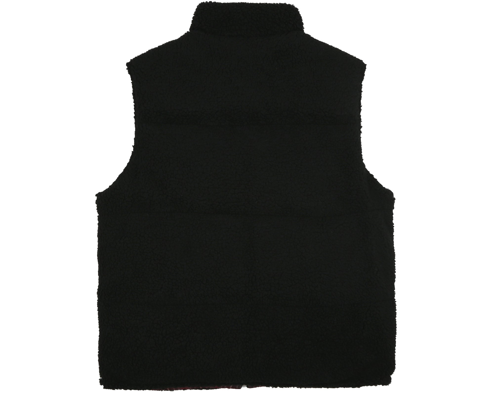 REVERSIBLE DOWN GILET - CHECK