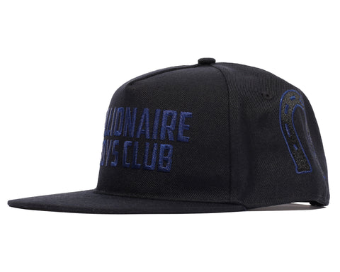 Billionaire Boys Club Spring '19 CAR CLUB EMBROIDERED SNAPBACK CAP - BLACK
