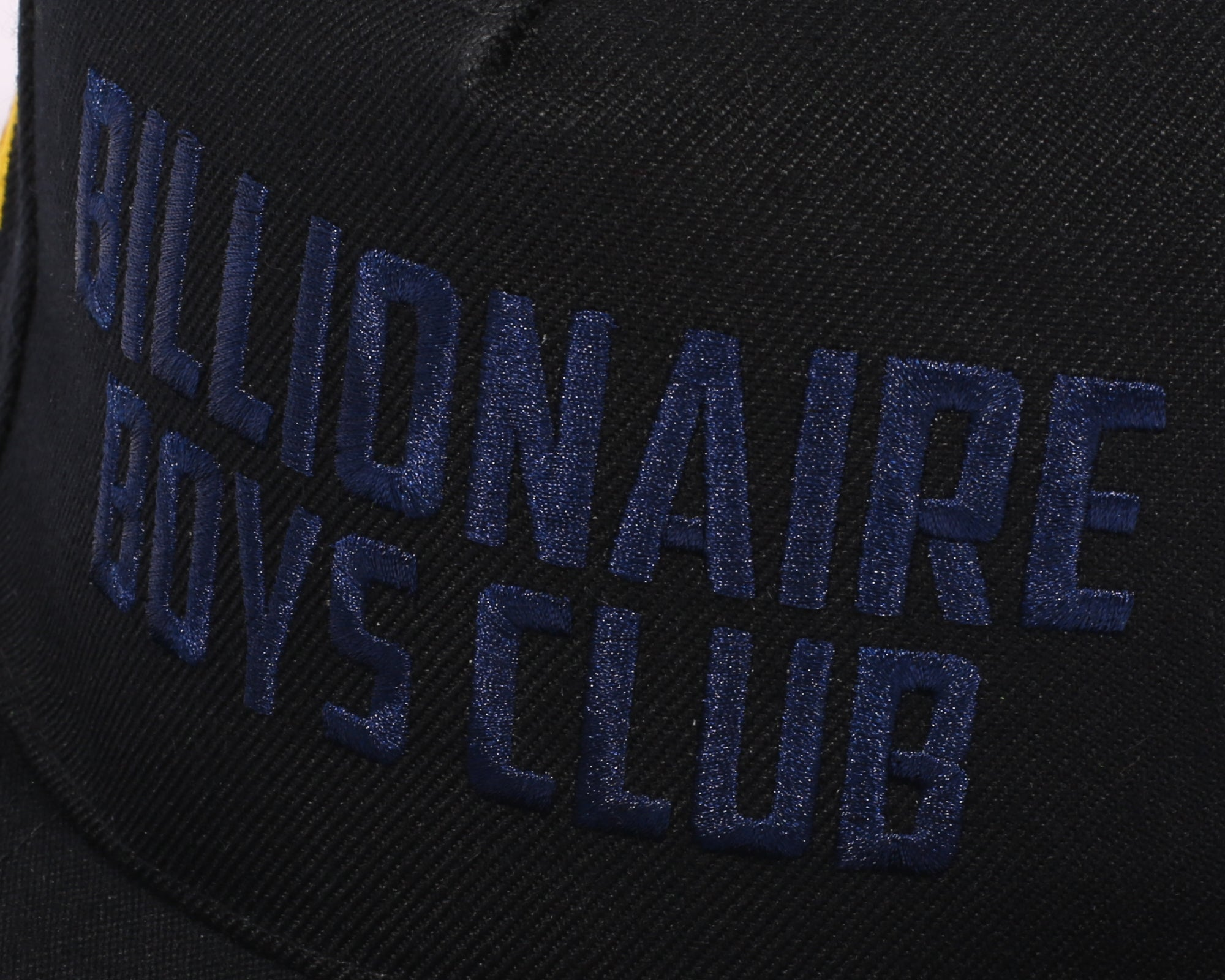 CAR CLUB EMBROIDERED SNAPBACK CAP - BLACK