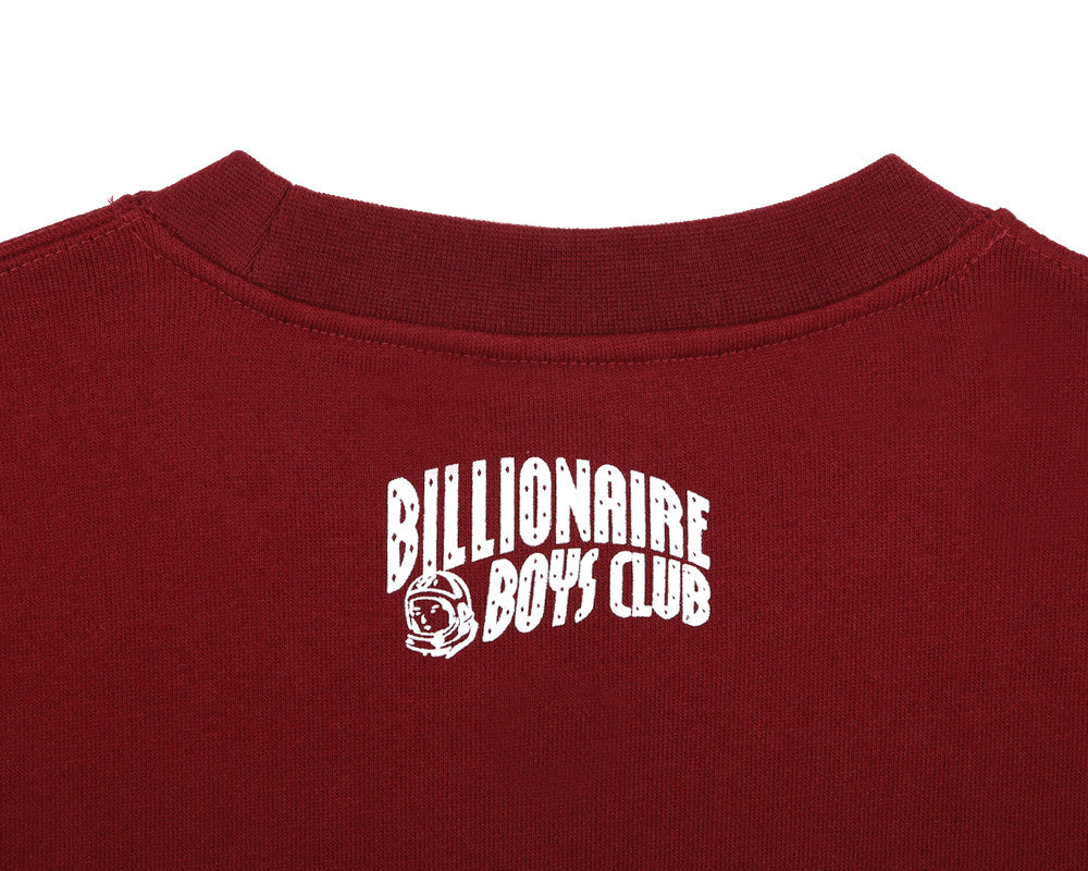 BBCICECREAM CAR CLUB CREWNECK - BURGUNDY