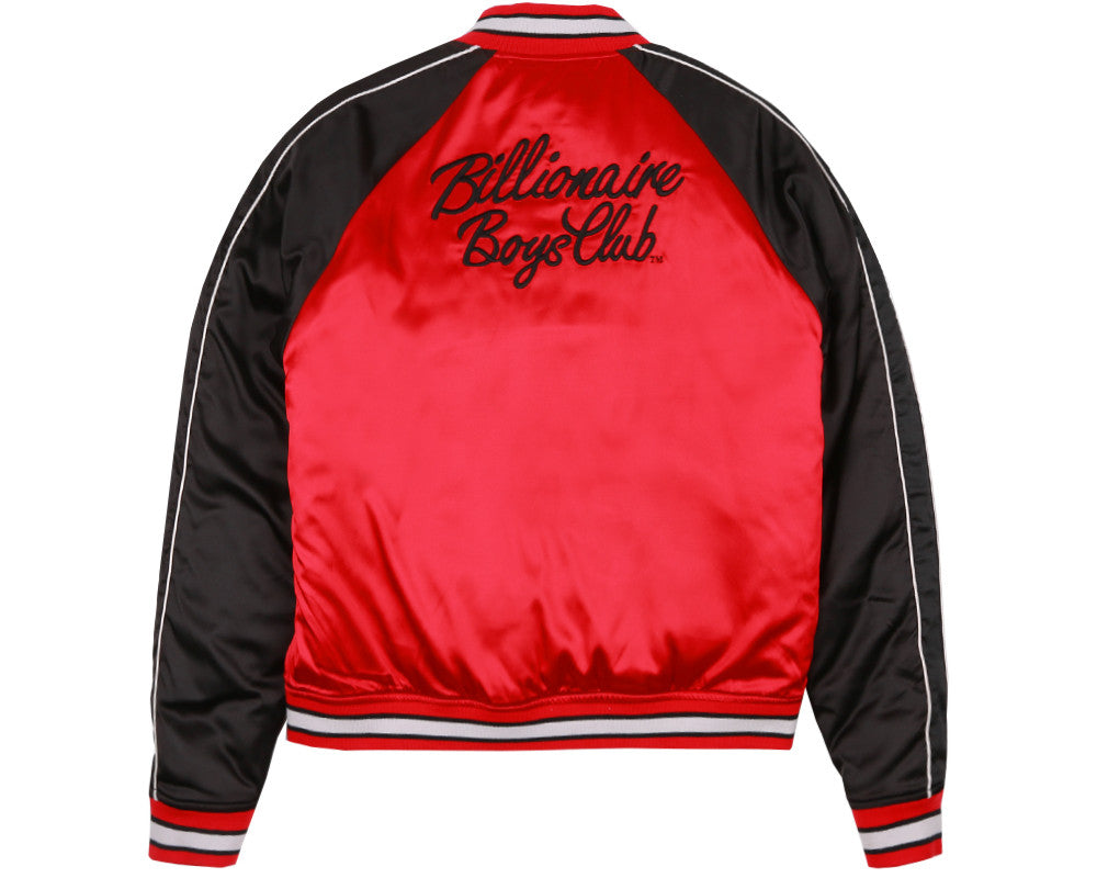 Billionaire Boys Club Fall '17 REVERSIBLE EMBROIDERED JACKET BLACK / RED