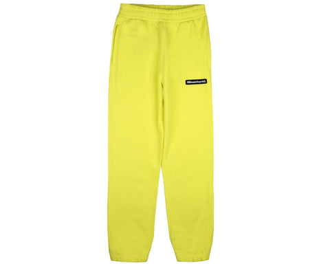 Billionaire Boys Club Pre-Fall '19 RUBBERISED LOGO SWEATPANT - YELLOW