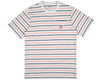 Billionaire Boys Club Pre-Fall '19 WOVEN STRIPE POCKET T-SHIRT - LIGHT BLUE