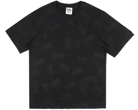 Billionaire Boys Club Fall '17 REPEAT PRINT T-SHIRT BLACK