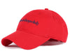 Billionaire Boys Club Spring '19 EMBROIDERED CURVED VISOR CAP - RED