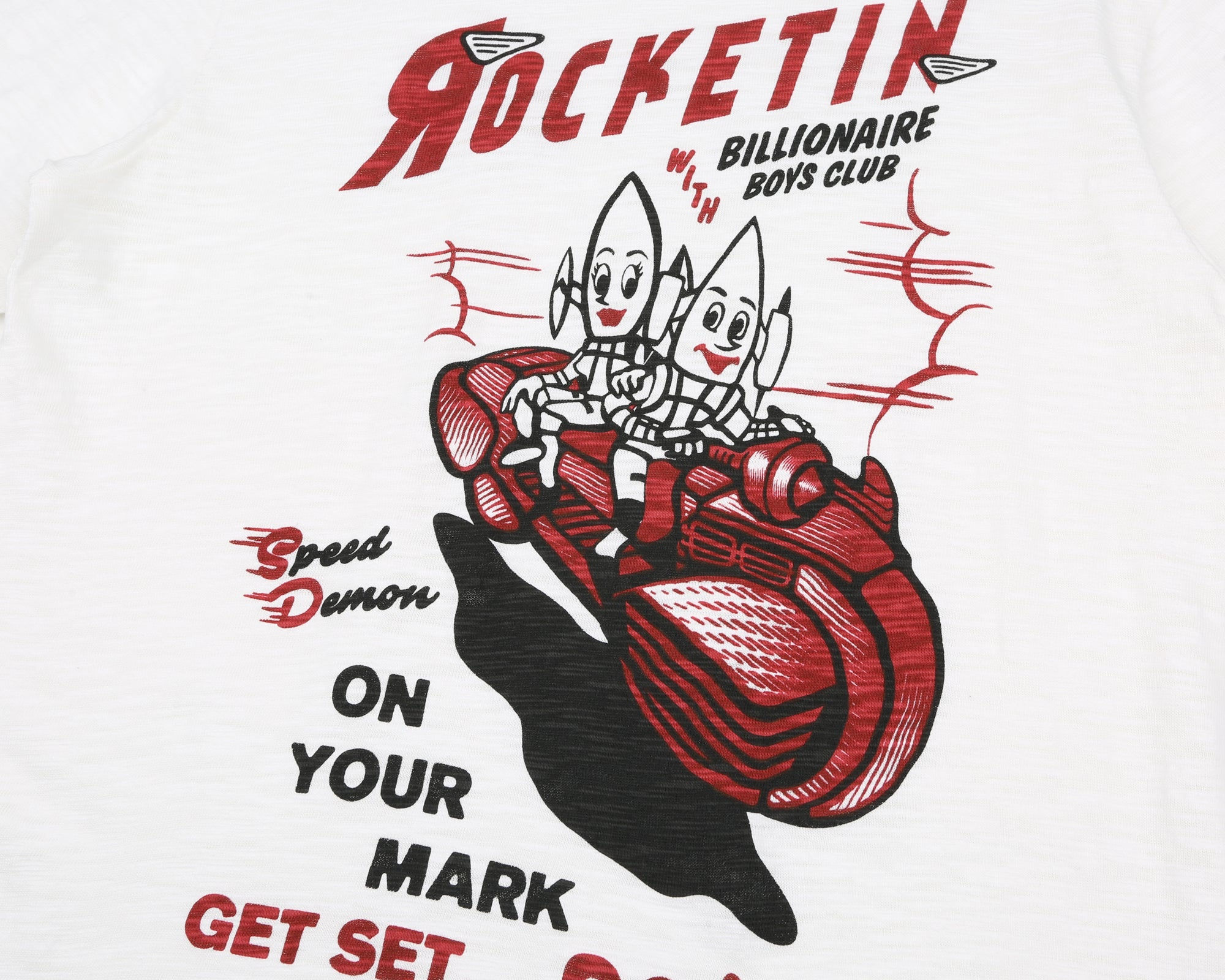 ROCKETIN T-SHIRT - BONE