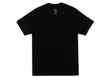Billionaire Boys Club Pre-Spring '17 GLITTER PACK ARCH LOGO S/S T-SHIRT - BLACK/GOLD