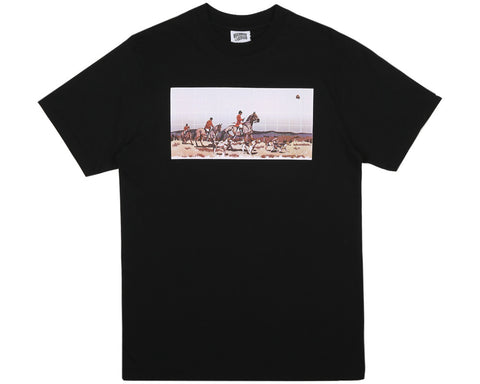 Billionaire Boys Club Pre-Spring '17 HUNTING IN SPACE S/S TEE - BLACK