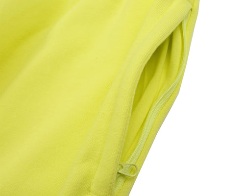 RUBBERISED LOGO SWEATPANT - YELLOW