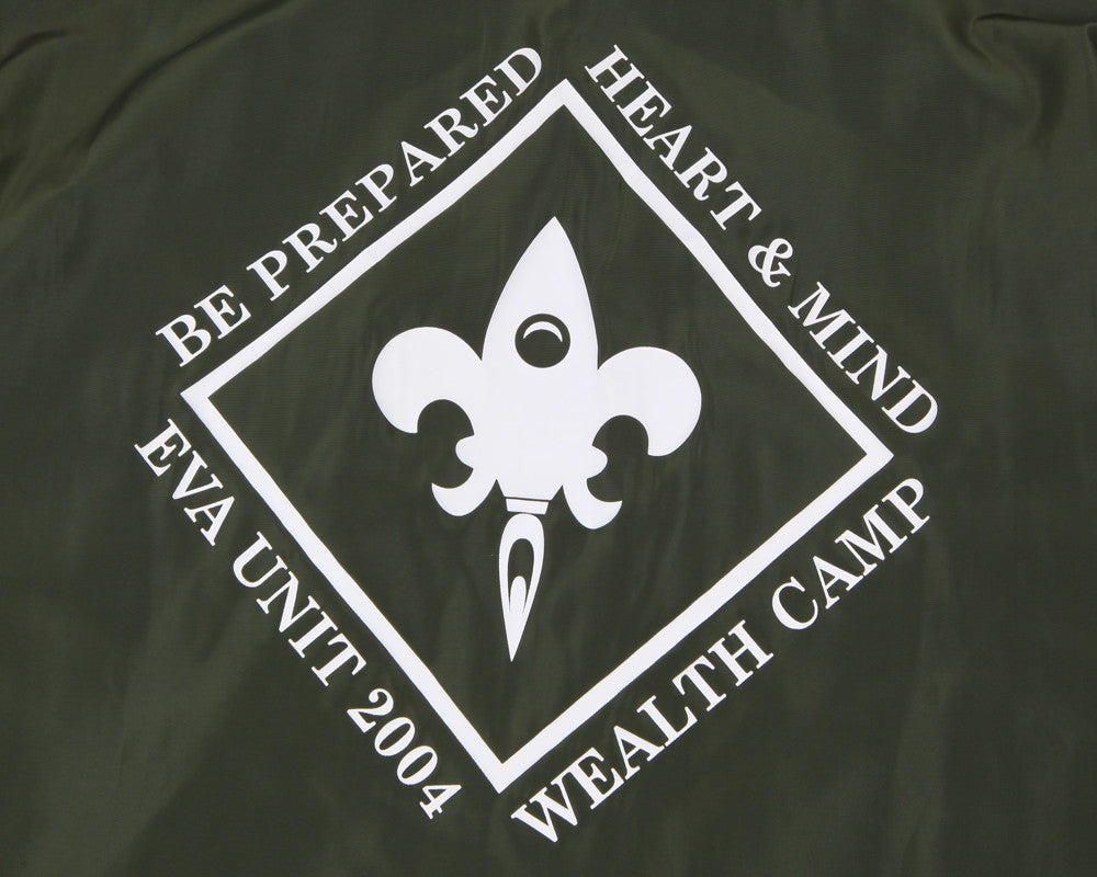 Billionaire Boys Club Fall '16 WEALTH CAMP COACH JACKET - OLIVE