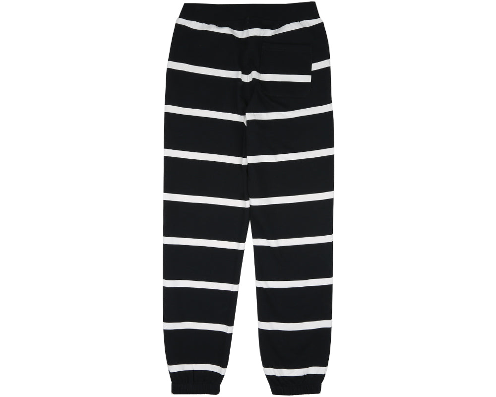 ALPHA OMEGA SWEATPANT - BLACK