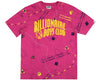 Billionaire Boys Club Pre-Fall '19 NAUTICAL PRINT A/O ARCH LOGO T-SHIRT - PINK
