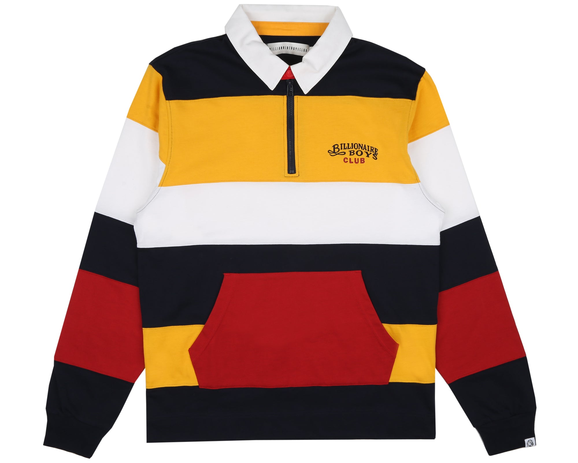 STRIPED RUGBY SHIRT - YELLOW