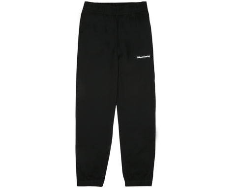 Billionaire Boys Club Pre-Fall '19 RUBBERISED LOGO SWEATPANT - BLACK