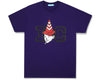 ICECREAM JAPAN X YOPPI IC YOPPI T-SHIRT - PURPLE